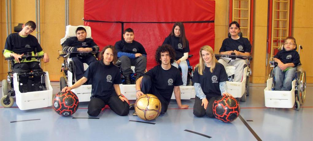 E-Rolli Fußball Team der Hans Radl Kickers / Matias Costa