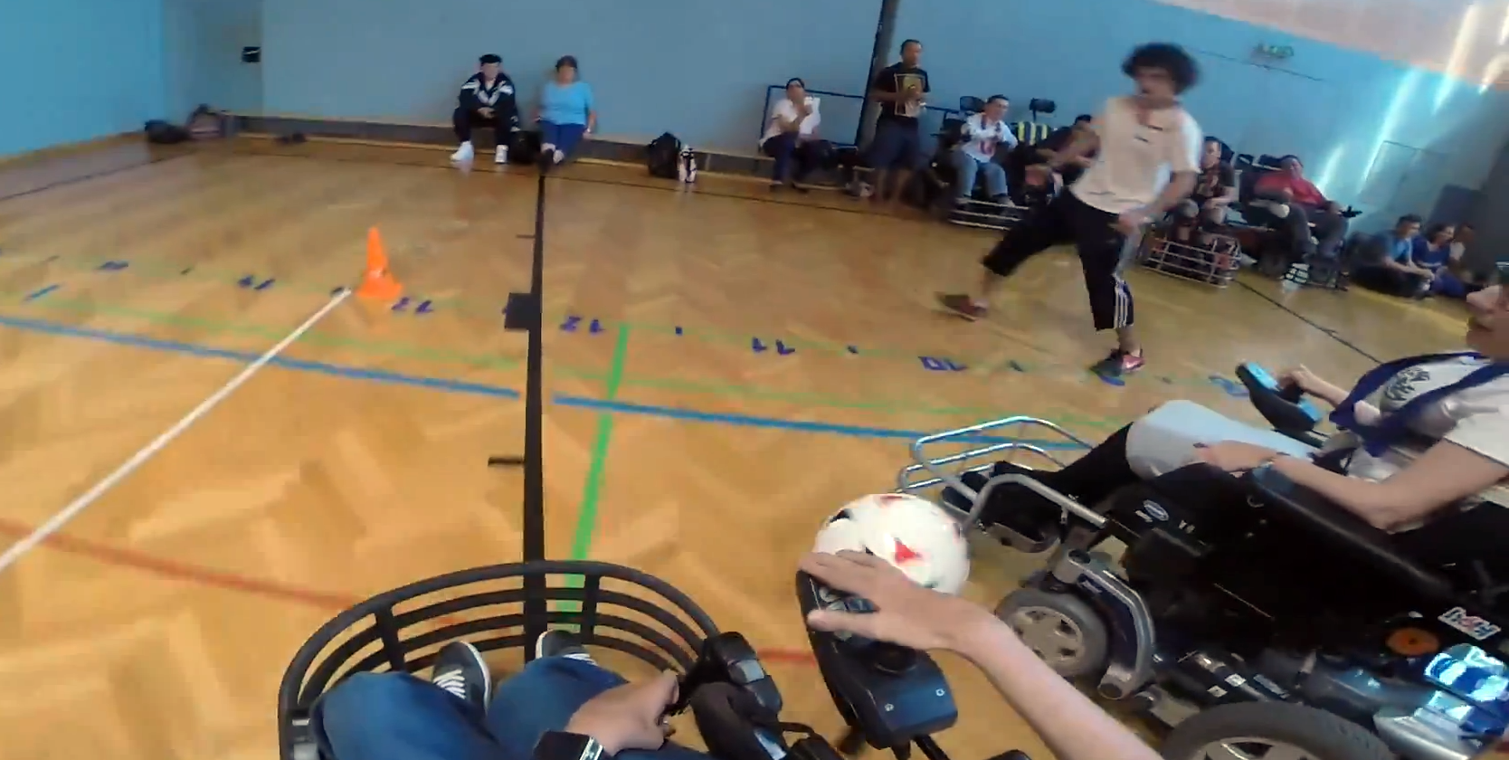 Spielszenen gefilmt mit einer GoPro