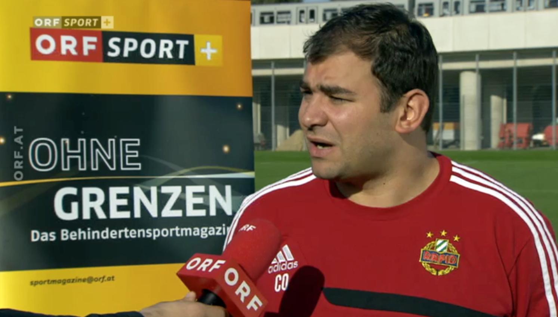 """Matias Costa im Interview mit """"Ohne Grenzen"""" des ORF"""