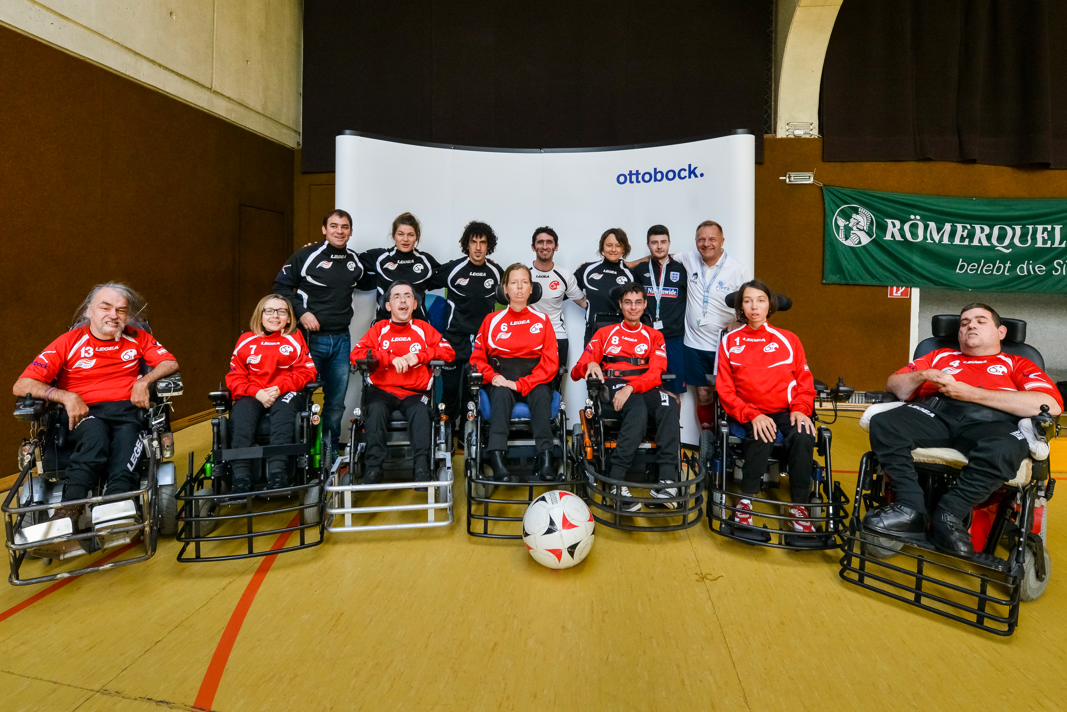 Austria A-Team; Foto: Sergiu Borcuta