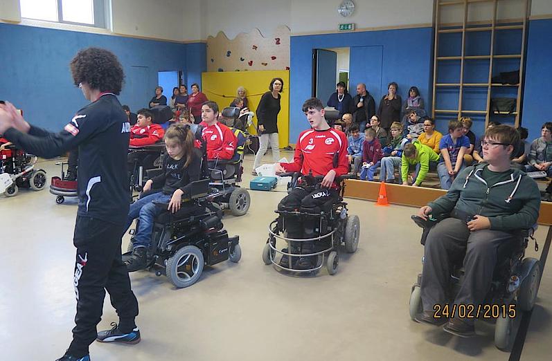Vorstellung in Landesschulzentrum für Bewegung und Sprache