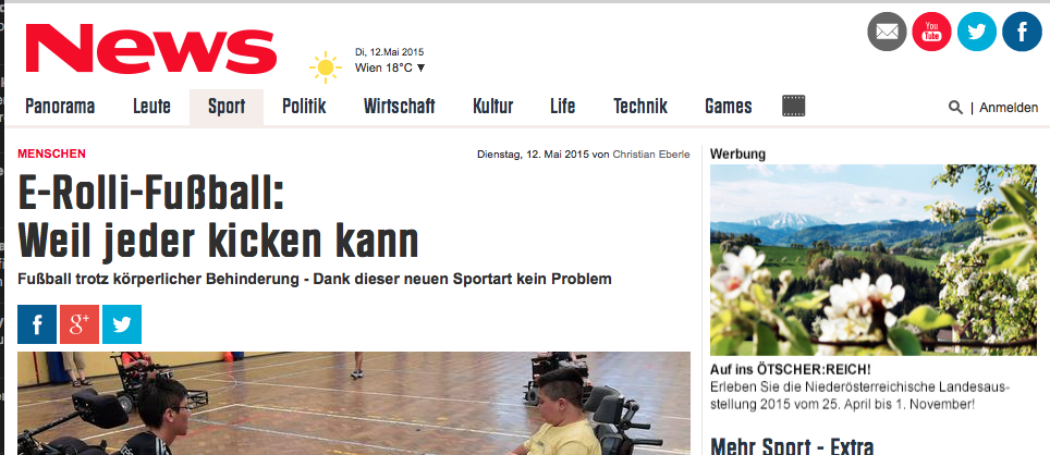 Artikel in news.at
