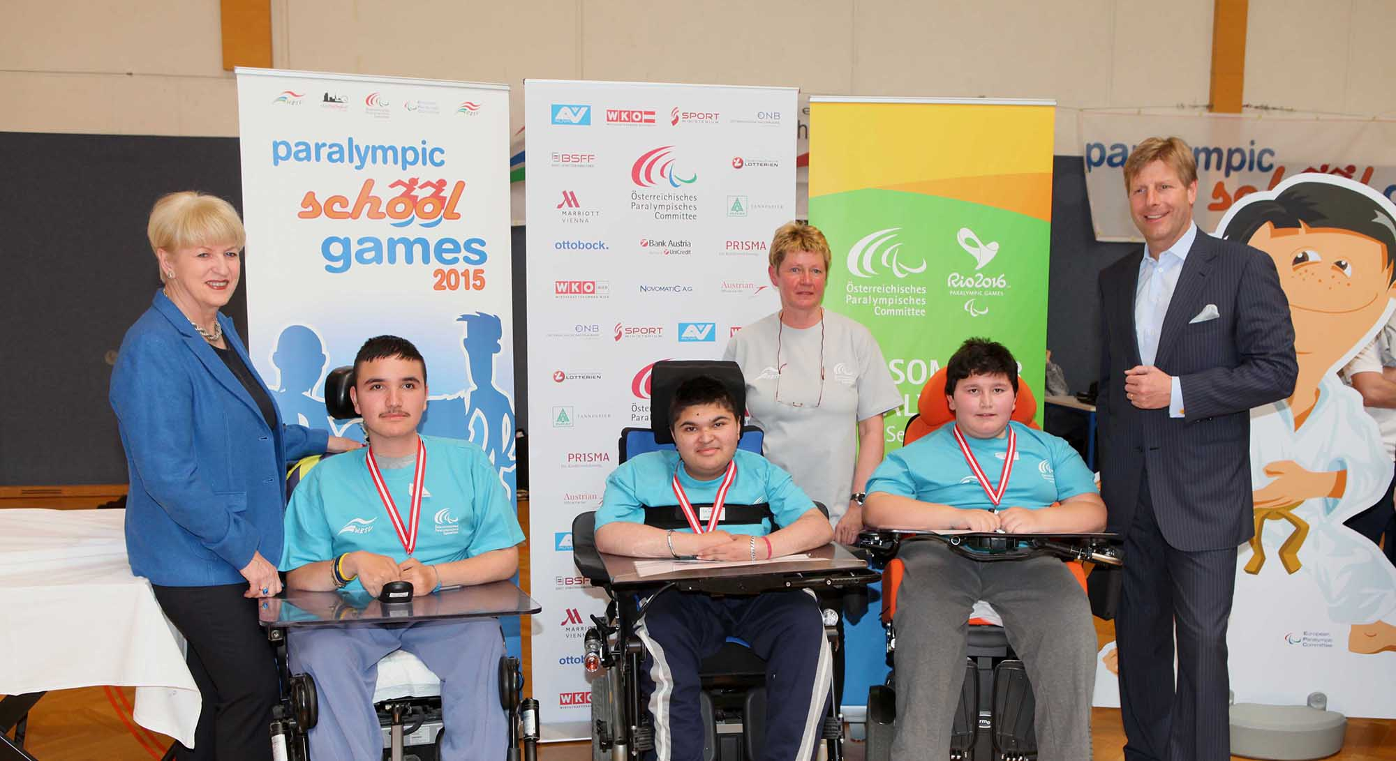 Paralympic School Games 2015