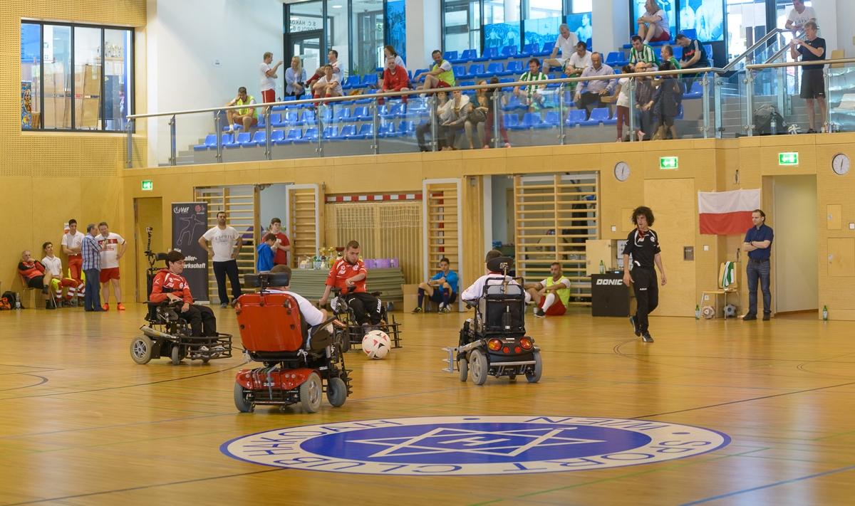 Spiel im Hakoah Sportclub