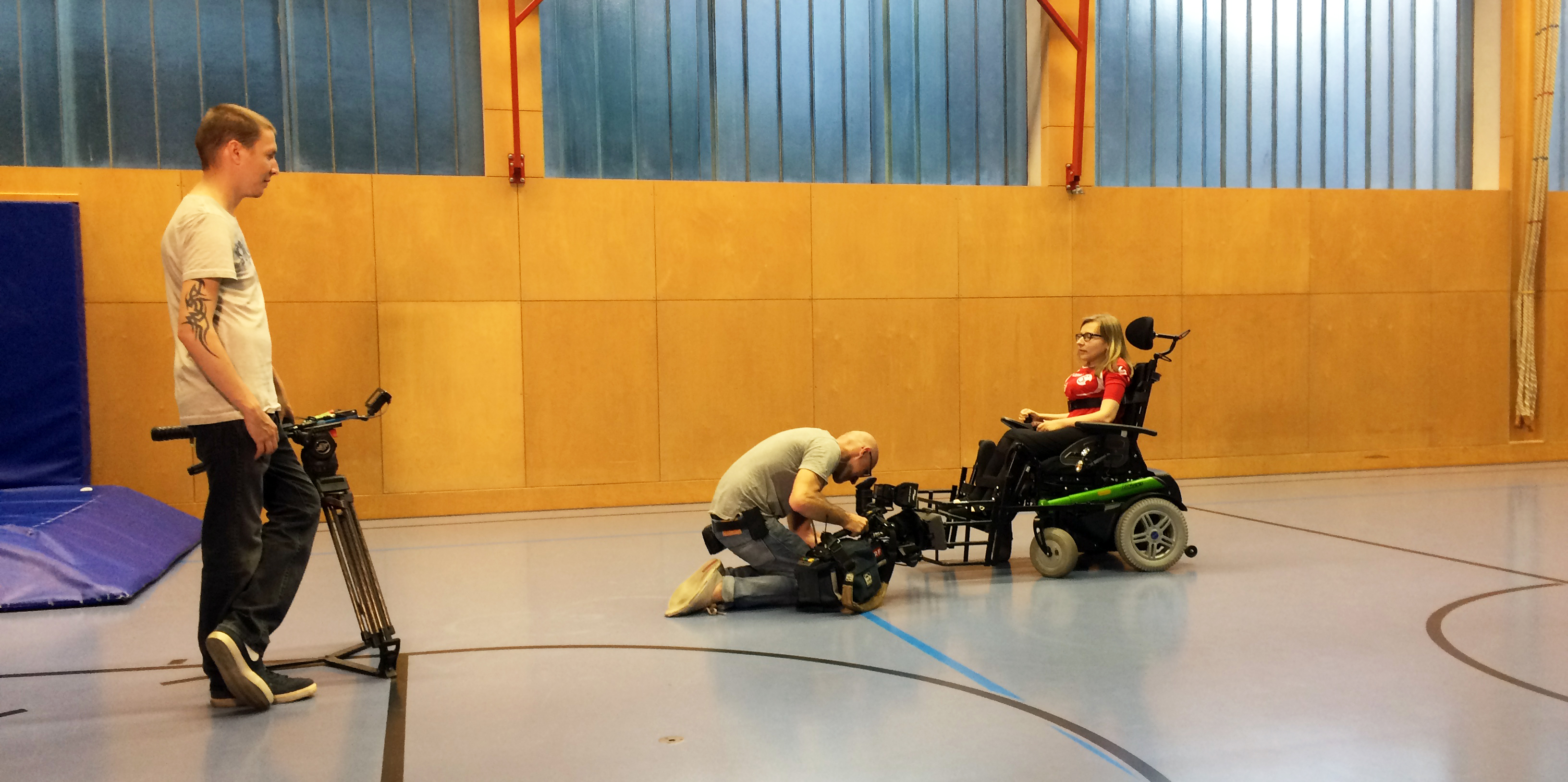 ORF filmte im Training 8. Juni 2015