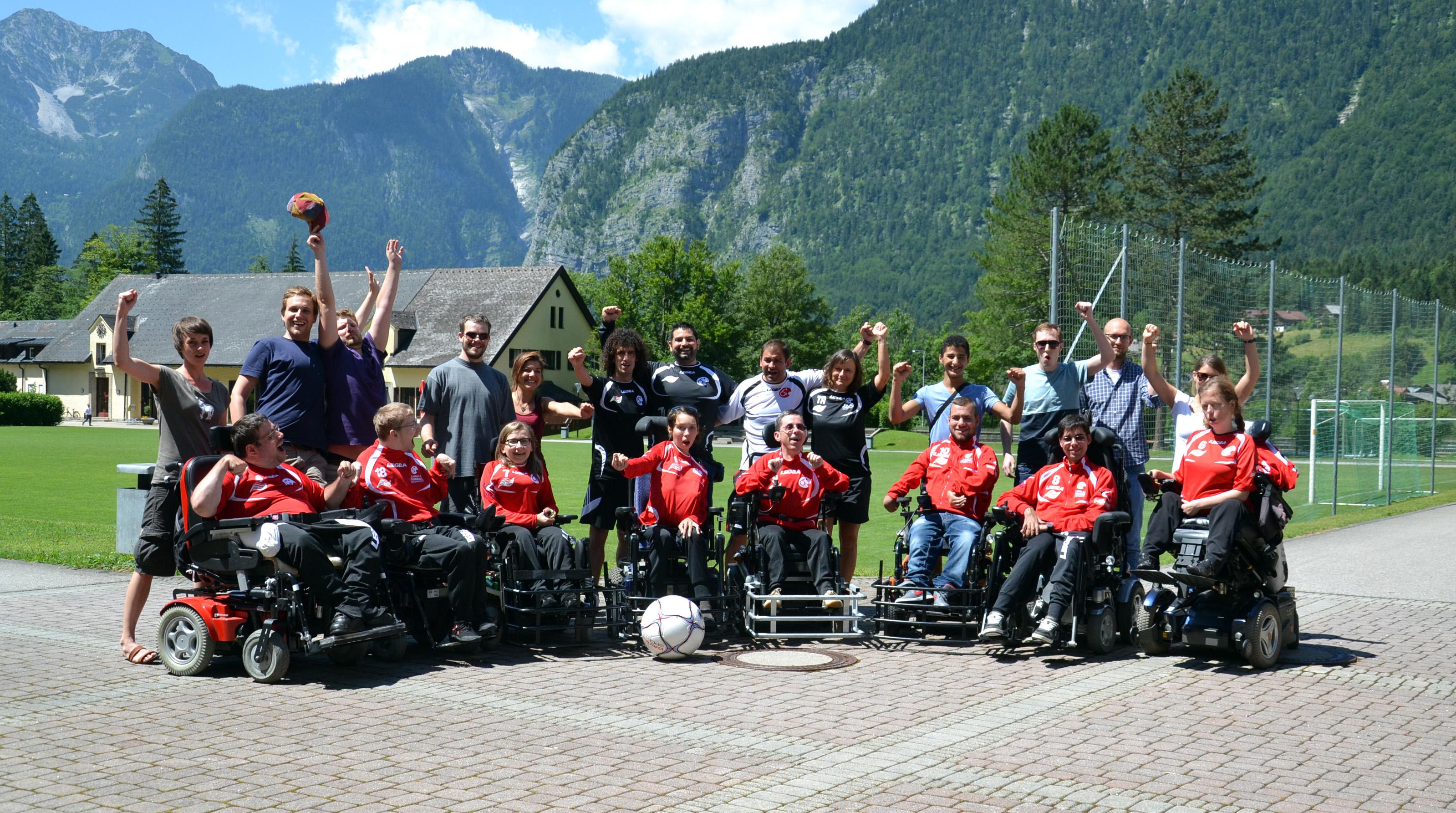 Team im Trainingslager 2015 - Obertraun / Haidi Abdel Gowda