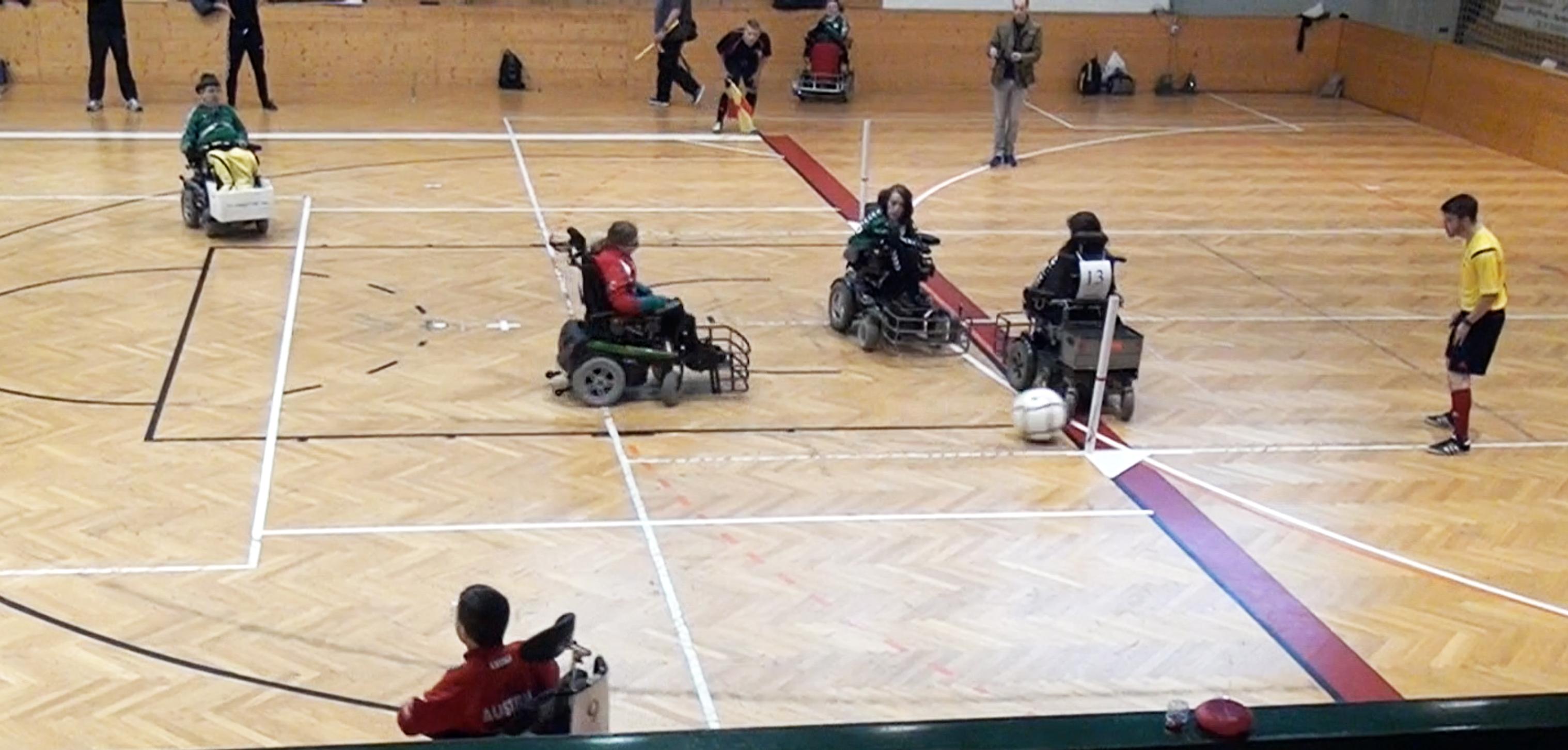 Tor durch Jasna gegen Team Dresden (ottobock.CUP 2015)