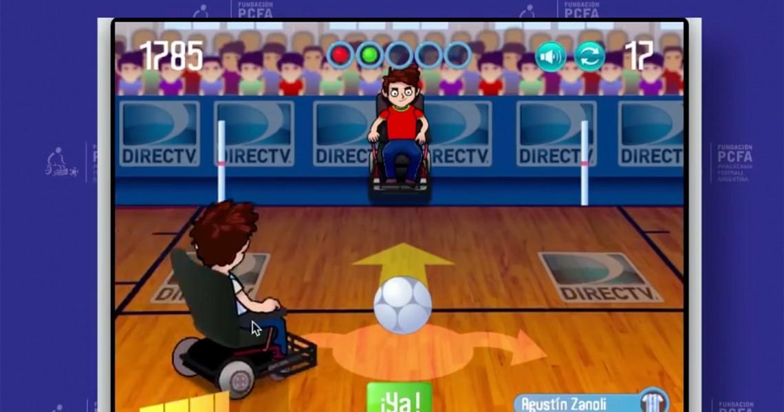 Computerspiel E-Rolli Fußball