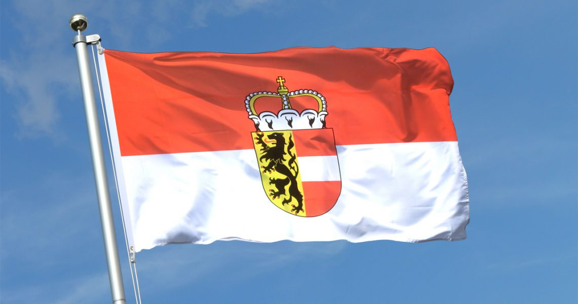 Flagge Land Salzburg