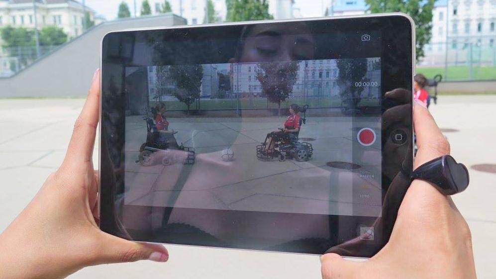 Verein Frauensolidarität hielt einen Video-Worksho