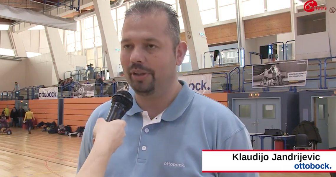 Klaudijo Jandrijevic (ottobock) im Interview