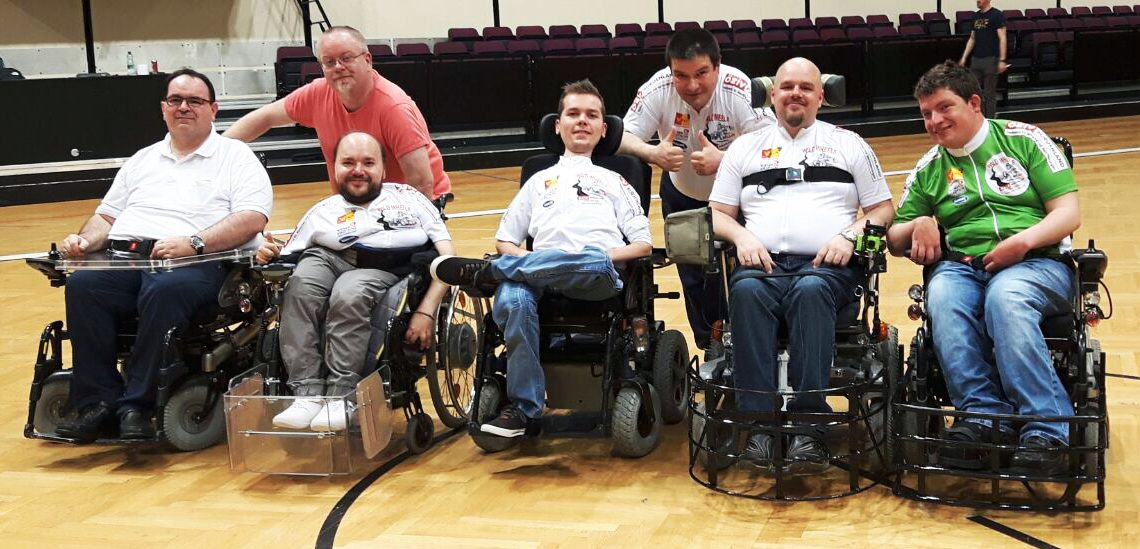 Team der Wild Wheels des ÖZIV Burgenland