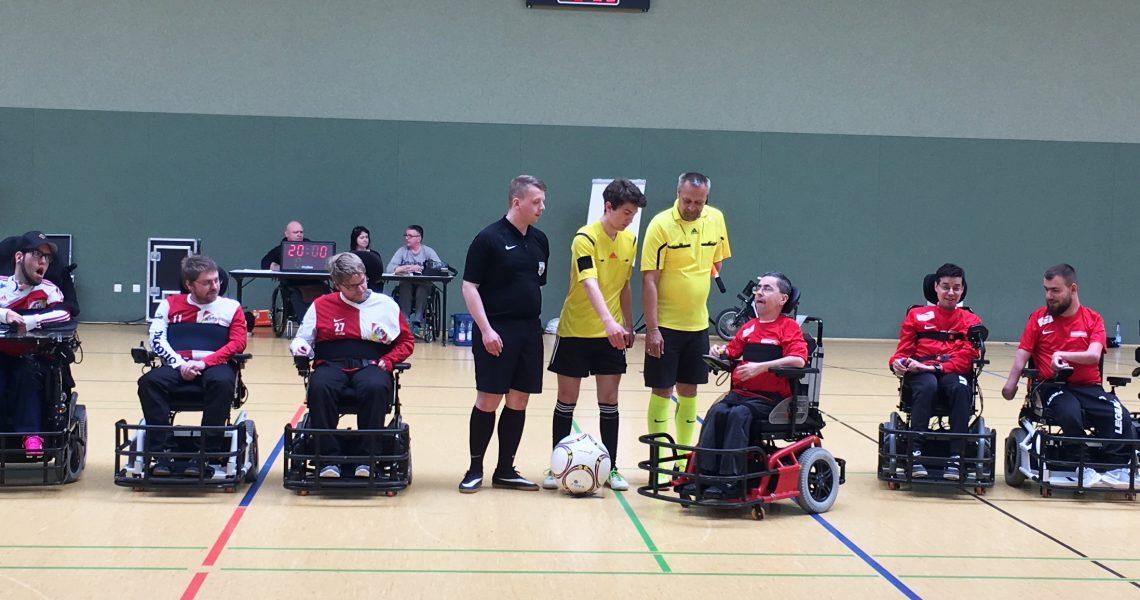 Finale im 1. E-Rolli Fußball HausRheinsberg Cup 2017