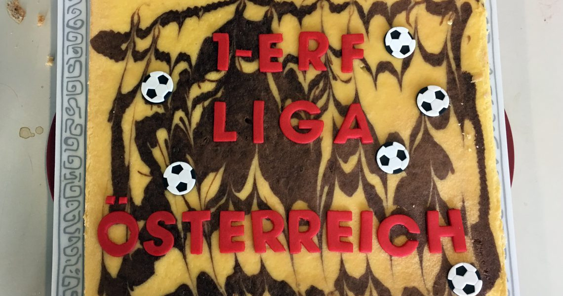 Torte: 1. Liga-Spieltag am 27. Mai 2017 in Linz