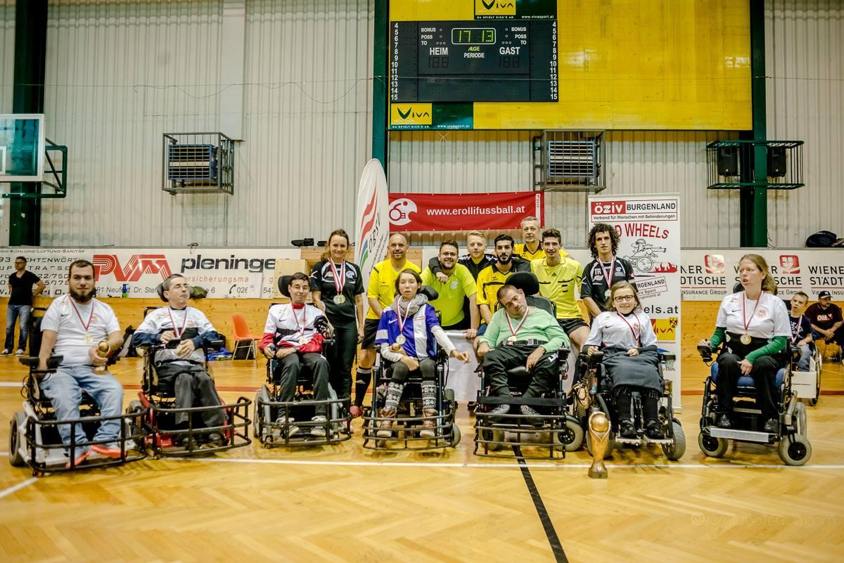 Sieger der Liga 2017 - Thunder E-agles des ASKÖ Wien