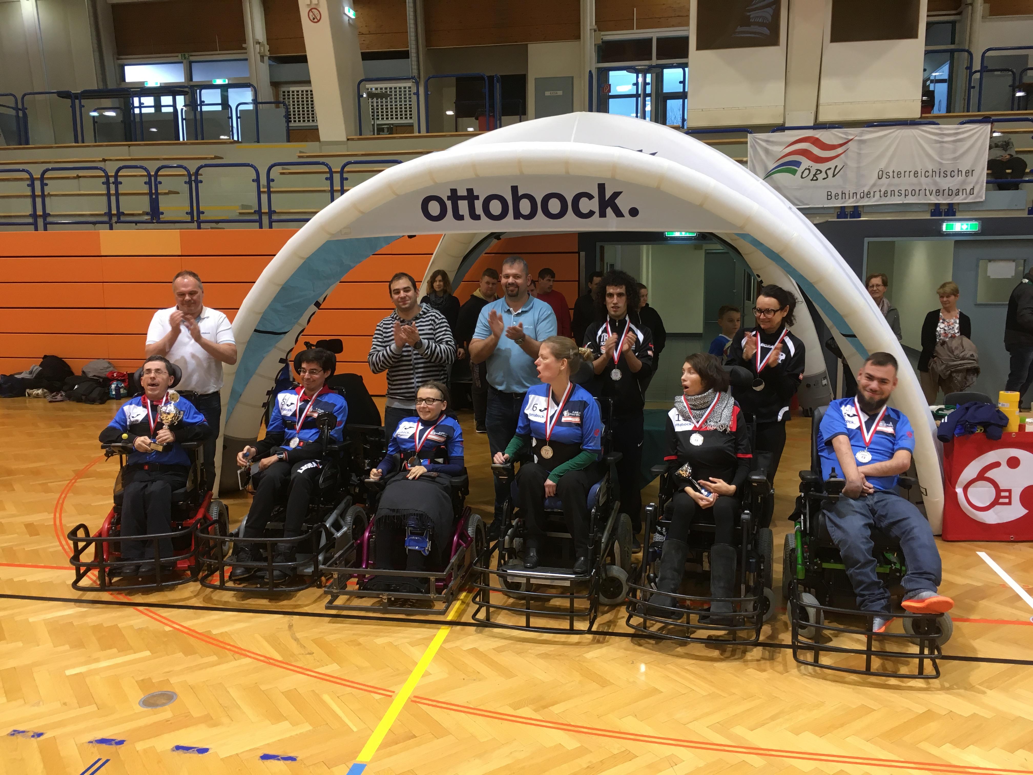 Thunder E-agles des ASKÖ Wien gewinnen Superliga ottobock.CUP 2017