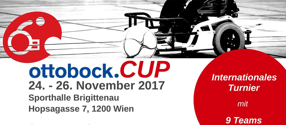 ottobock.CUP 2017 von 24. bis 26. November in Wien