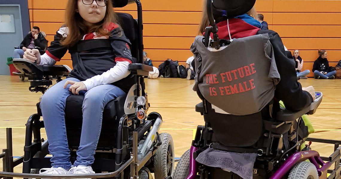 Aufschrift: Die Zukunft ist weiblich