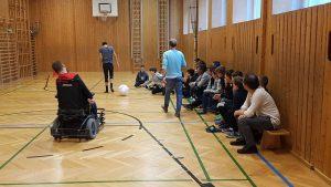 Zu Besuch in der Sportmittelschule Wien 2