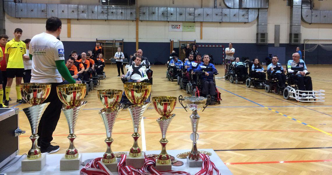 Liga 2018 - Finalrunde mit Pokalen