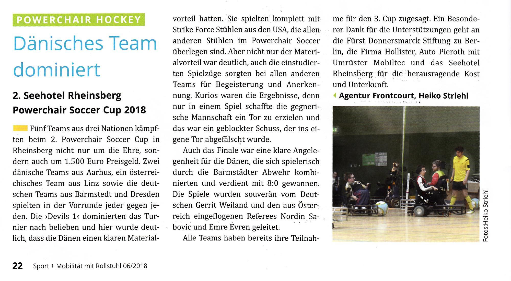 Rheinsberg CUP 2018 - Dänisches Team dominiert