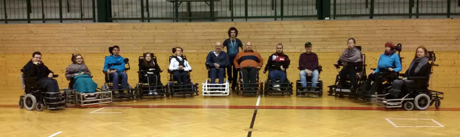 Alle TeilnehmerInnen des Trainings