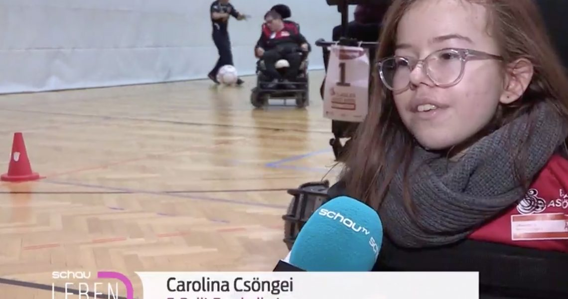 SchauTV interviewt Carolina Csöngei