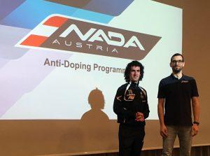 Anit-Doping Schulung mit Dr. Christoph Triska (NADA) und der Trainer Leo Vasile