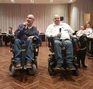 Karaoke: Winfried Zwanziger und Michael Streit