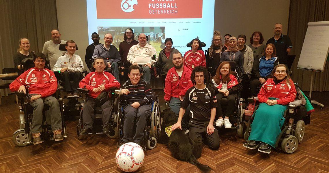 TeilnehmerInnen des Treffens des Nationalteams am 23. Februar 2019