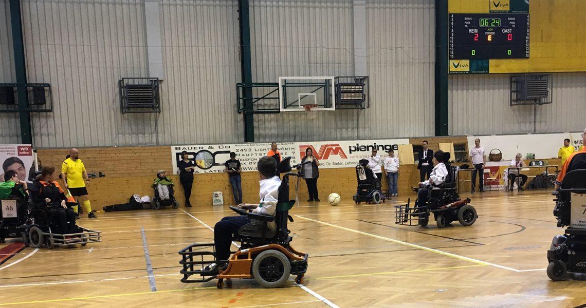 Frühjahrsrunde Liga 2019 - Wild Wheels gegen Steelchairs Linz