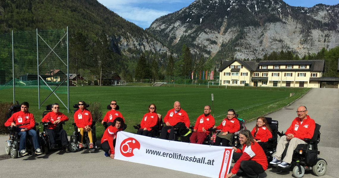 Nationalteam beim Training im Sportzentrum Obertraun im April 2019