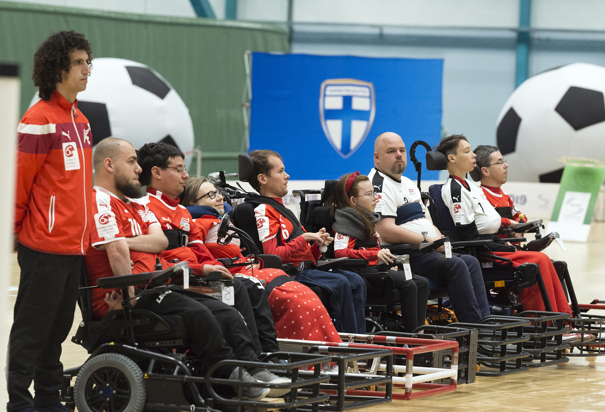 Österreichische Team beim EPFA Nations Cup