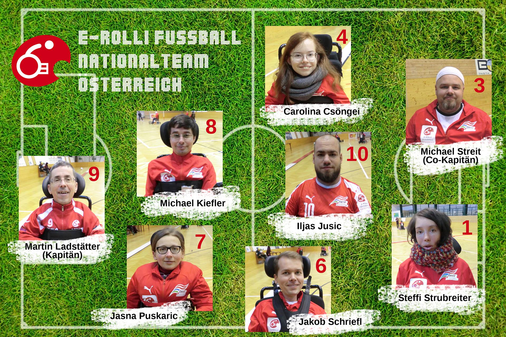 E-Rolli Fußball Nationalteam Österreich