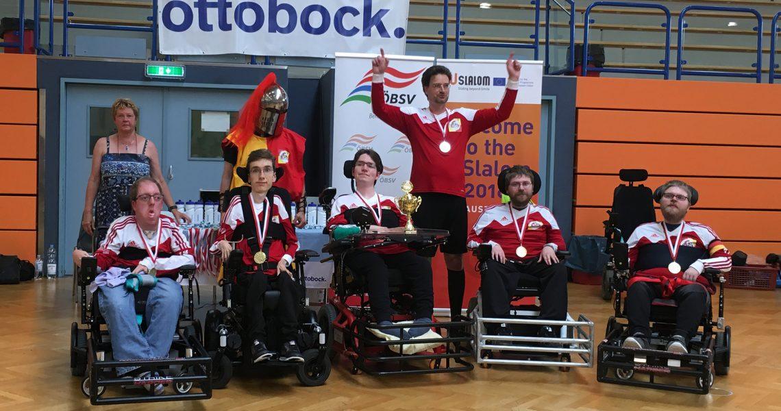 Knights Barmstedt – Barmstedter MTV von 1864 e.V. (Deutschland) gewinnen 5. ottobock.CUP