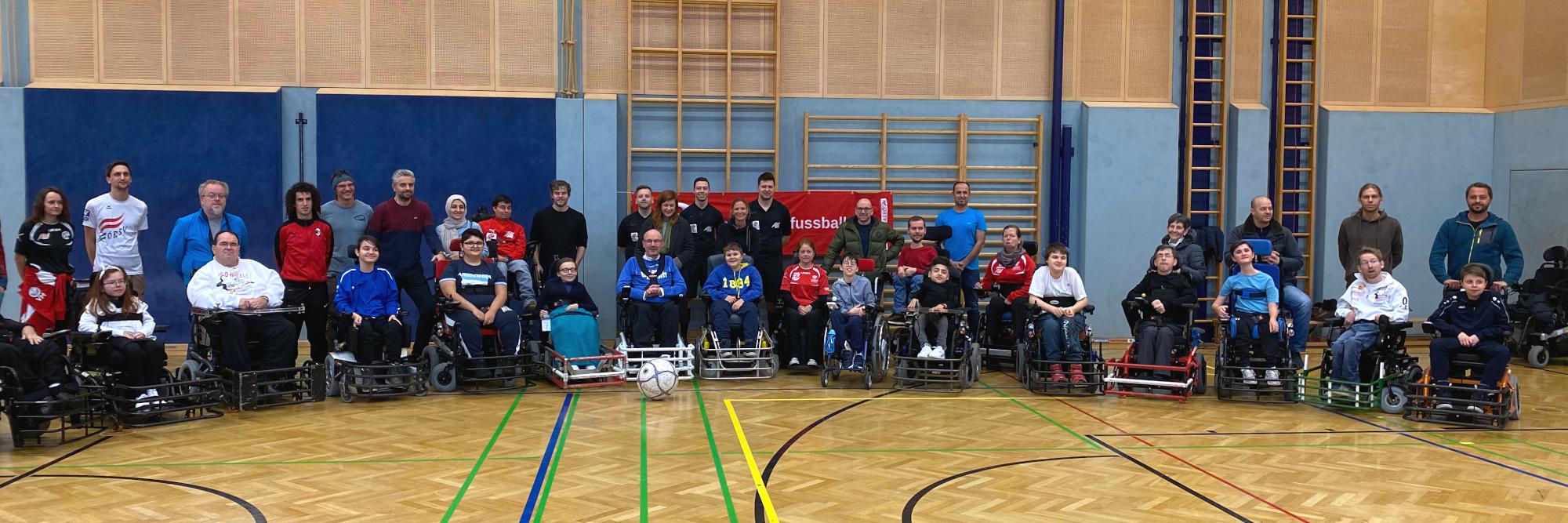 Alle SpielerInnen beim ASKÖ Player's CUP