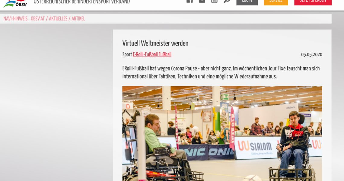 ÖBSV: Virtuell Weltmeister werden