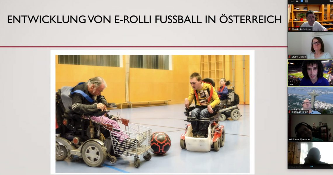 Entwicklung von E-Rolli Fußball in Österreich