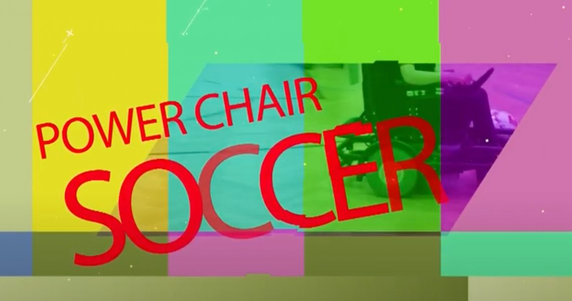 SWÄG war beim Powerchair Soccer