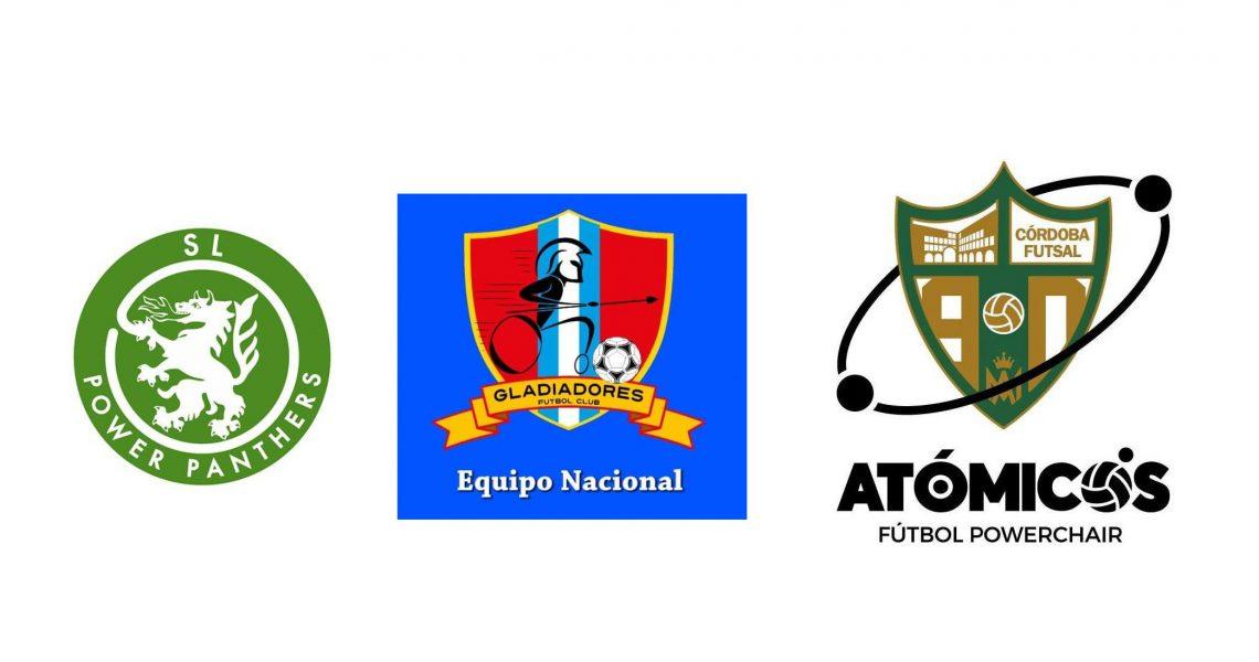 SL Power Panthers, Gladiators und Atomicos Futbol Powerchairs
