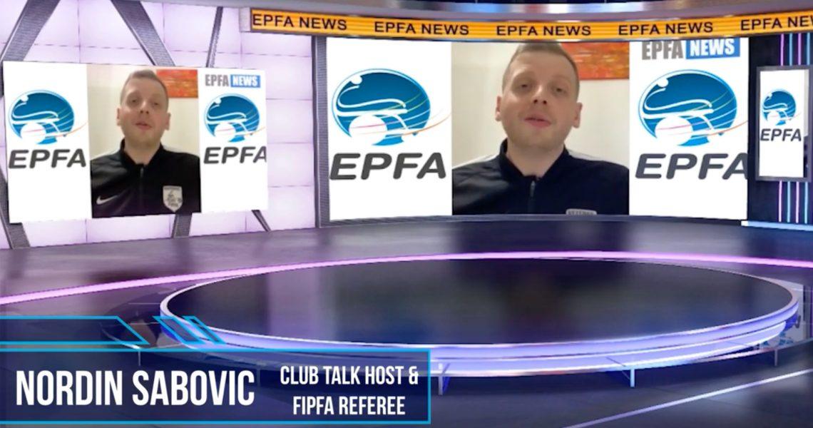 Nordin Sabovic bei EPFA NEWS