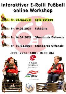 E-Rolli Fußball Workshop 5.3.2021 - Spielaufbau